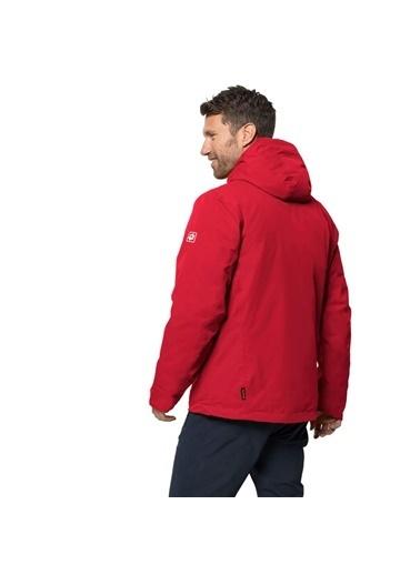Jack Wolfskin Jack Wolfskin Argon Storm Jacket Outdoor Mont 1111721 1111721003 Kırmızı